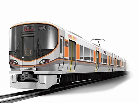大阪環状線新型車両323系(イメージ)