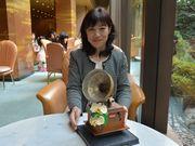 中之島のリーガロイヤルホテル チョコで作った「蓄音機」を限定販売