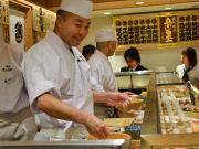 大阪・中之島に江戸前立ち食いすし「魚がし日本一」 関西初出店
