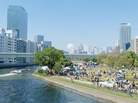 「水都大阪フェス」のイメージ