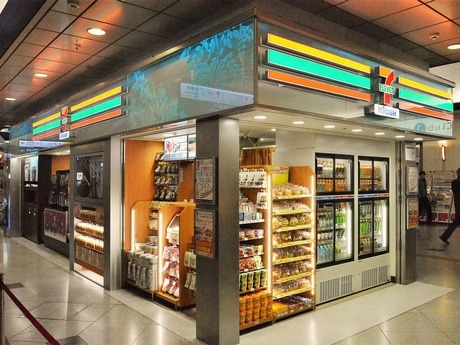 JR大阪駅通路にコーヒーマシン5台 「キヨスク型」セブン ...