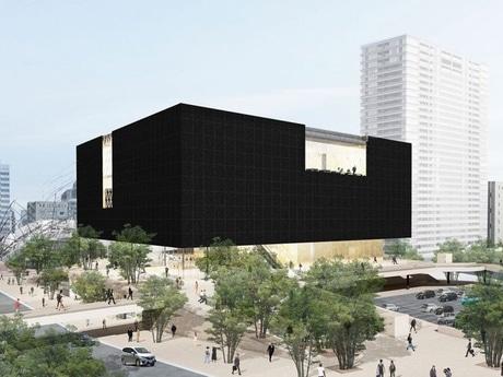 新美術館の外観イメージパース