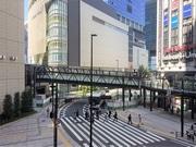 梅田「ヨドバシ橋」Bデッキは10月中旬 グランフロント高架に接続