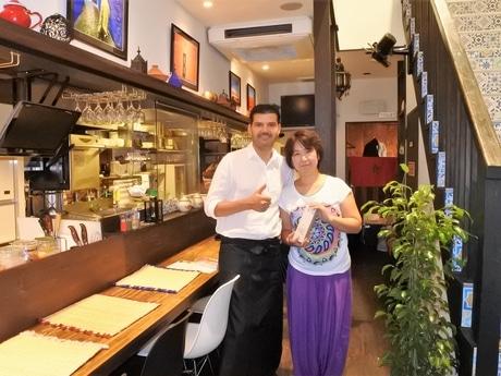 ジャズーリ ムスタファさん・陽子さん夫妻