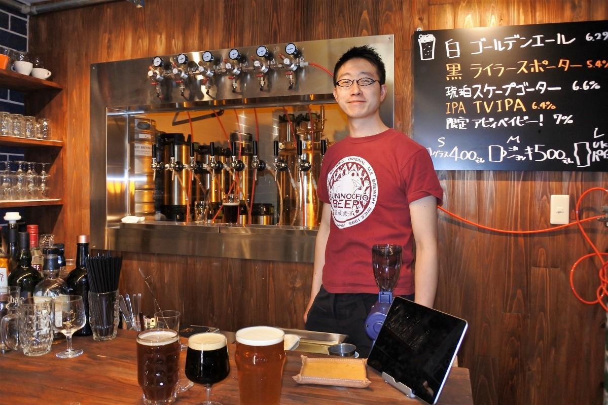 ブリューパブスタンダード代表の松尾弘寿さん