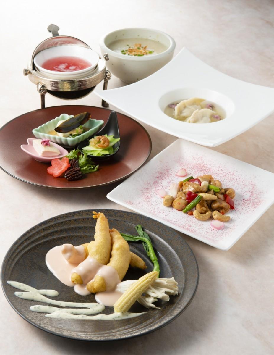 ホテル阪急インターナショナルの中国料理店「春蘭門」のランチ