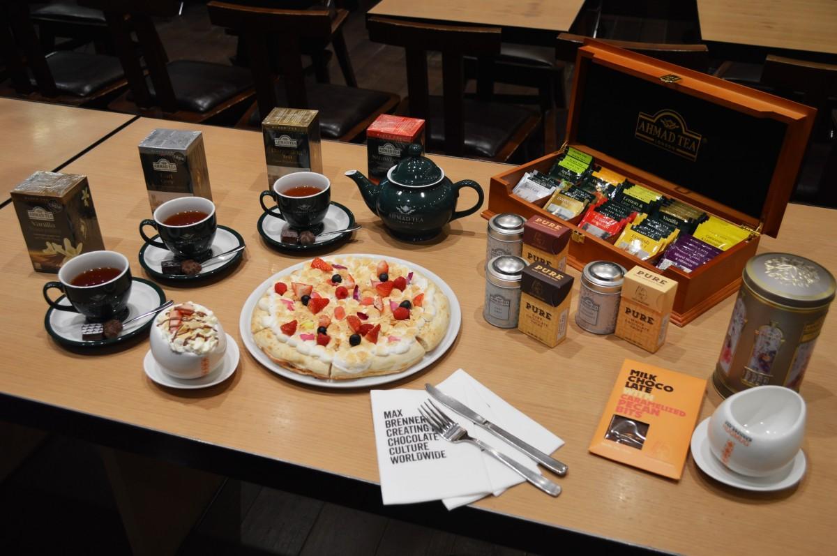 英国紅茶「アーマッドティー」とのコラボメニュー