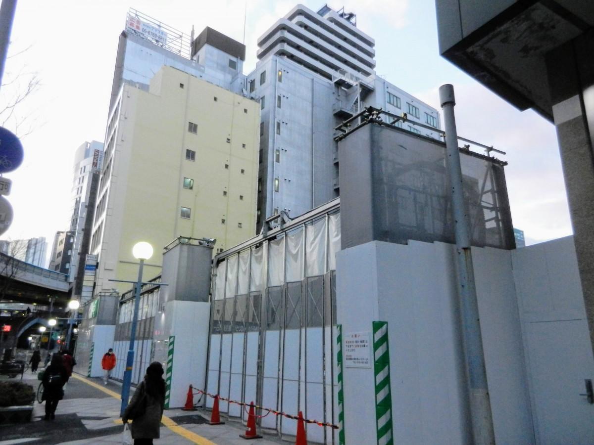 新ホテル「エルシエント」建設予定地