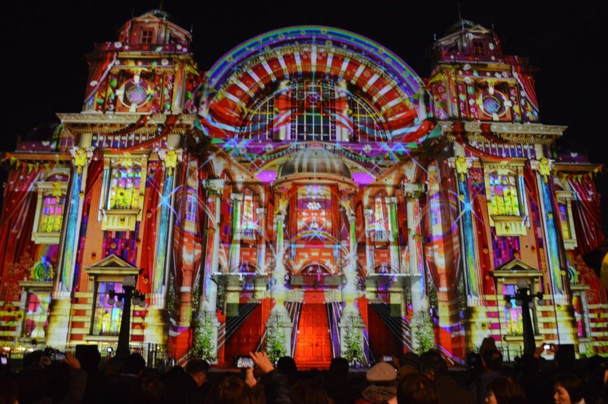大阪市中央公会堂の「ウォールタペストリー」