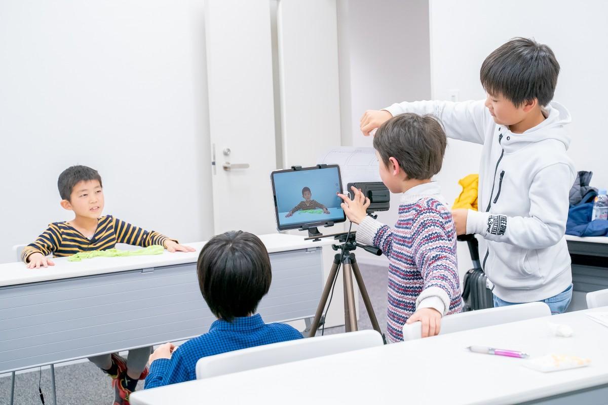 「YouTuber Academy」の授業風景