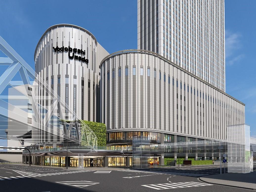 ヨドバシ梅田タワー外観(イメージ)