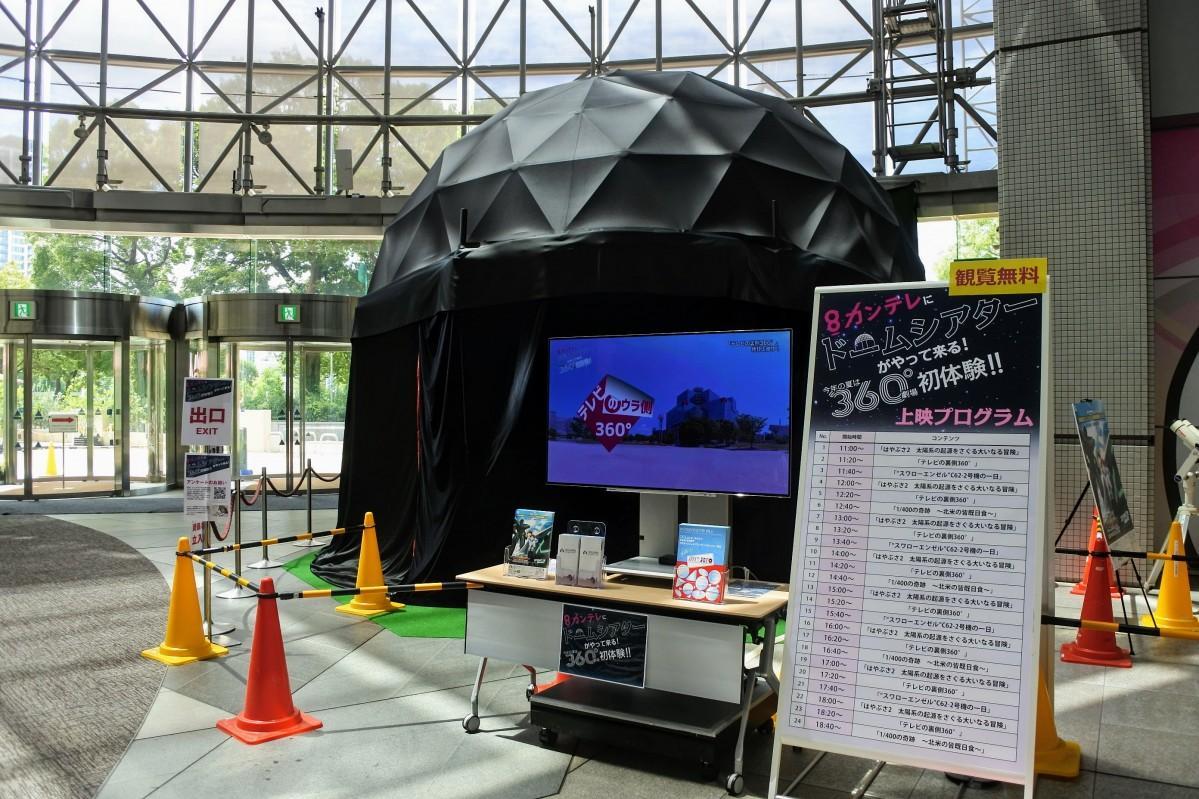 関西テレビ本社屋のドームシアター