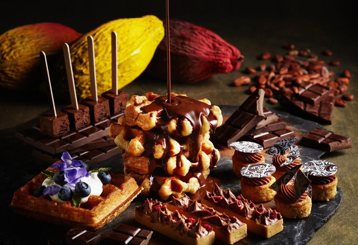 10月1日から開催する「ベルギーチョコレートブッフェ」