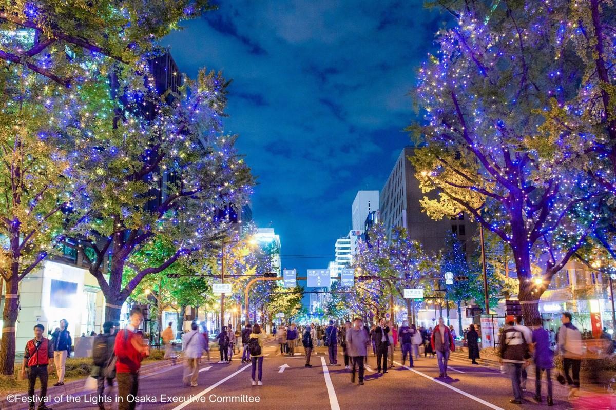 大阪・光の饗宴開宴式(2018年記録写真)