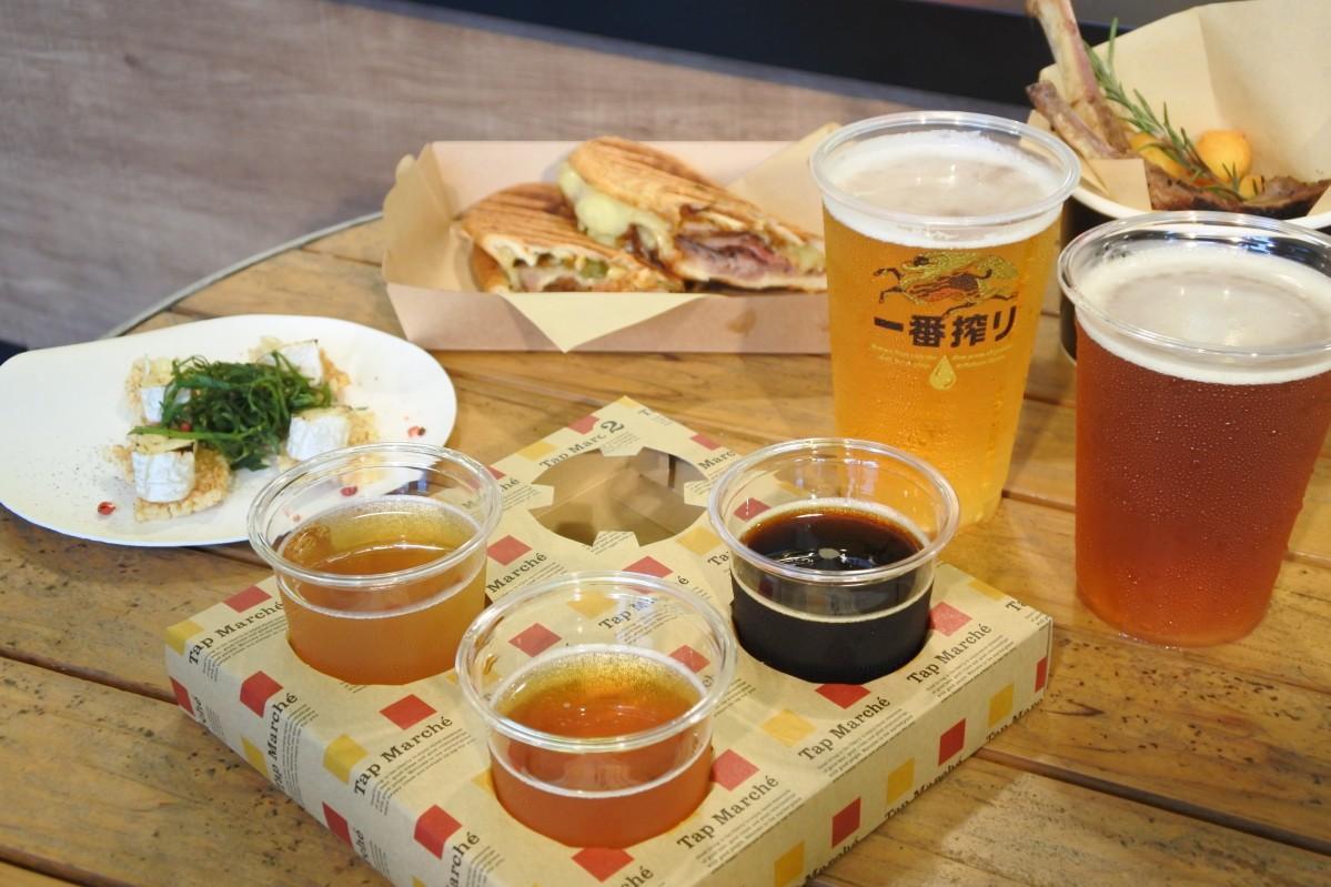 クラフトビールごとに合う料理のペアリングを提案