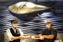 グランフロント大阪に近大産ウニとトコブシ使った新メニュー 客の声を研究に反映