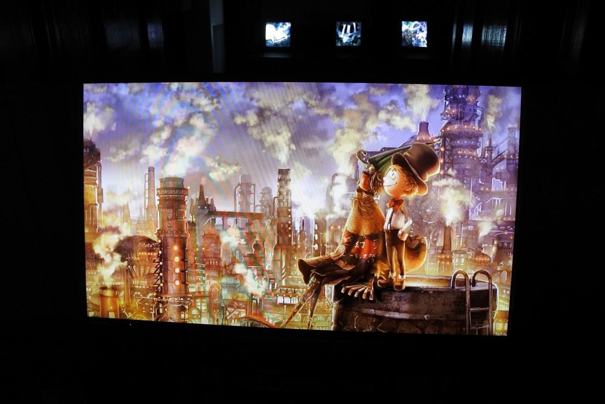 映画化を記念して開催する「えんとつ町のプペル 光る絵本展」