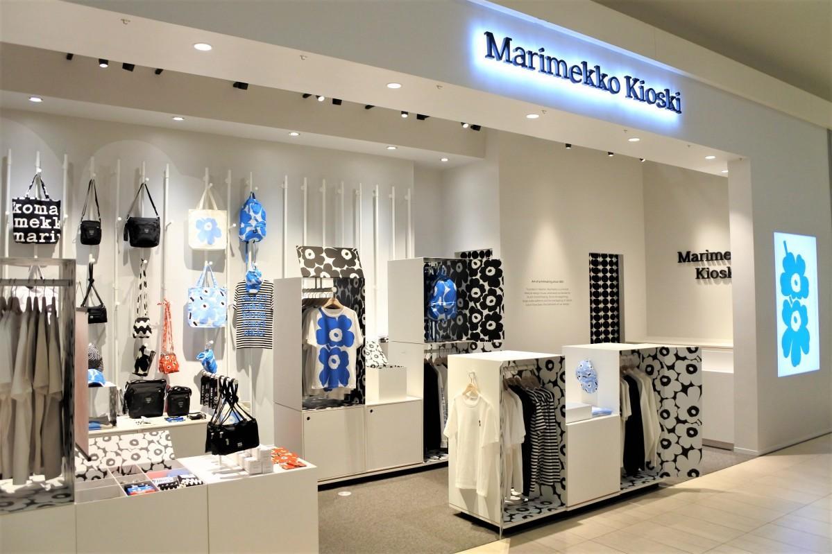 世界初の常設店「マリメッコ キオスキ 大阪店」