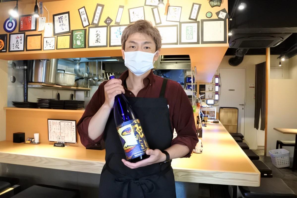 日本酒をセルフサービスで楽しめる「地酒さかば 雅」