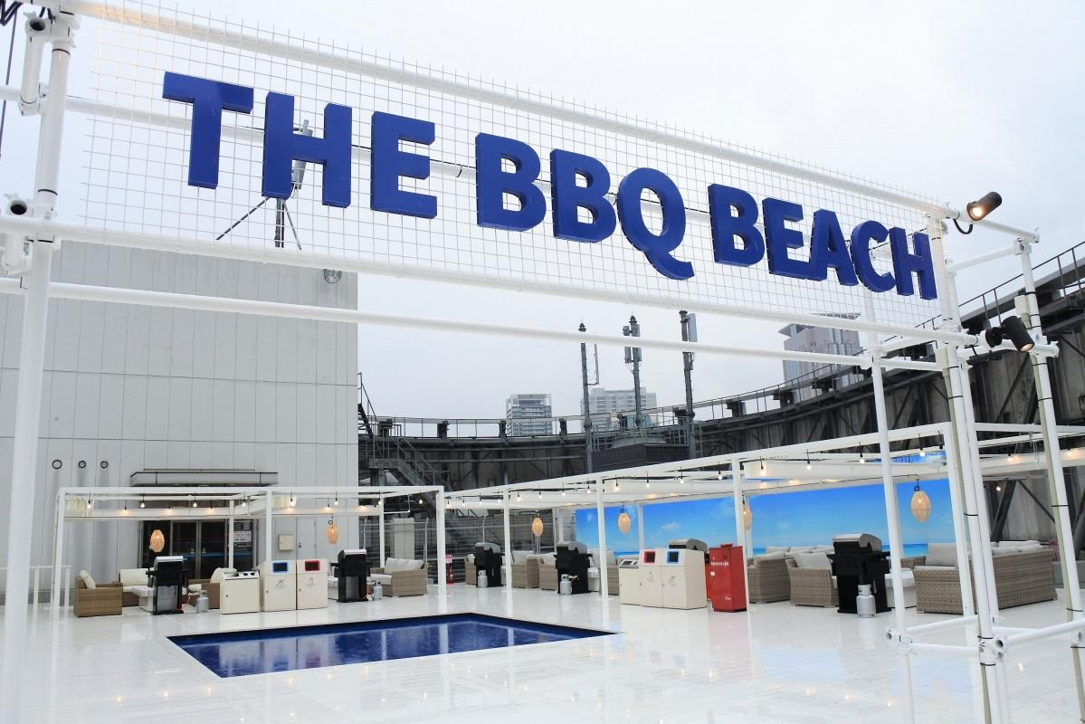 海外のリゾートをイメージした「THE BBQ BEACH」