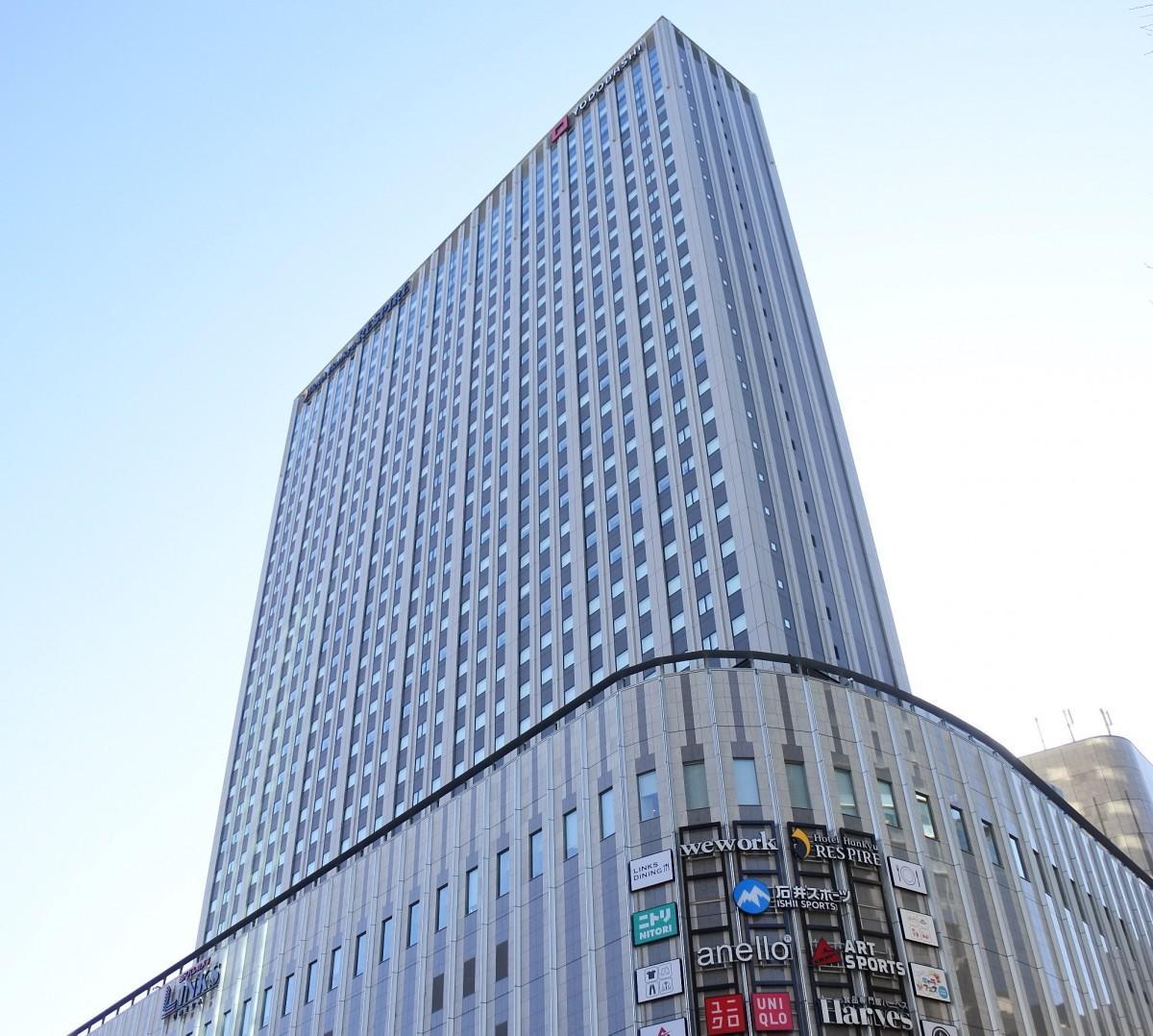 代替ホテルとなる「ホテル阪急レスパイア大阪」