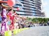 「梅田ゆかた祭」 盆踊りや打ち水で「ファンづくり」