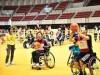 梅田で車いすバスケや「ボッチャ」体験イベント 「ワールドマスターズゲームズ」PRで