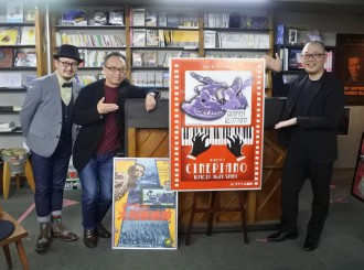 テアトル梅田で「サイレント映画」上映会 初のピアノ演奏付き