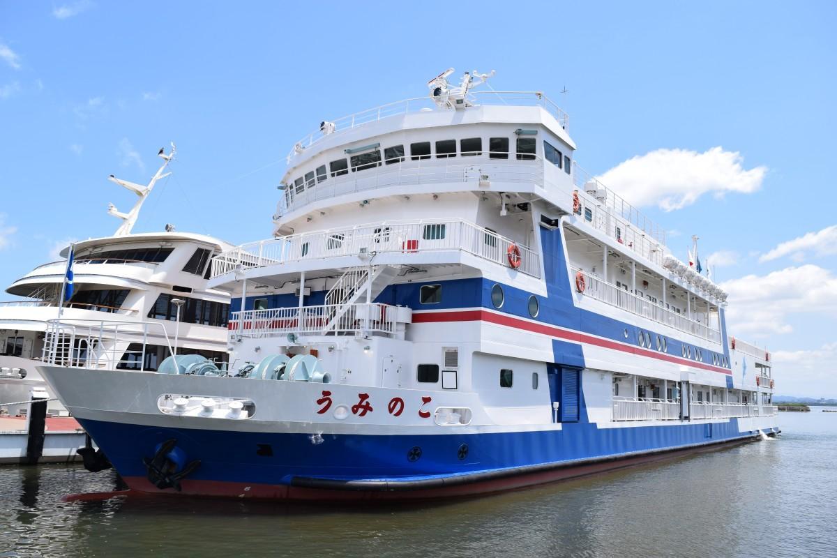 学習船「うみのこ」は2018年に新しくなった