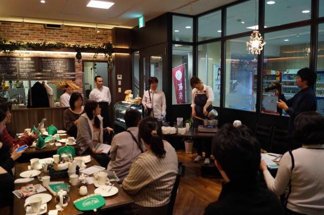 地域ブログ北本日記の「第3回スイーツ紅茶会」初の店舗コラボとなった武蔵浦和のカフェビストロ「LE VANT」