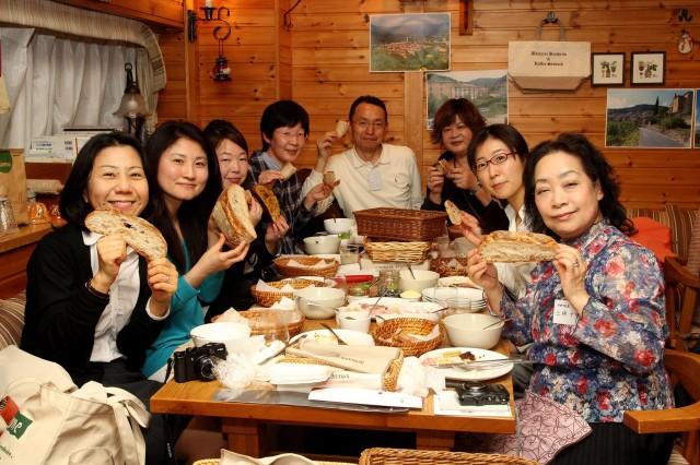 話題の食事パンを楽しむ会