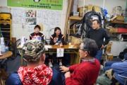 浦和のサイクル店で女子プロ野球・埼玉アストライアの選手らファン交流会