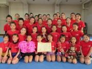 浦和のジュニア・チアリーディングクラブ「レッドモンキーズ」が全国大会で銅賞
