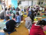 浦和・高砂小学校で彫刻家がワークショップ 「美術と街巡り・浦和」を前に