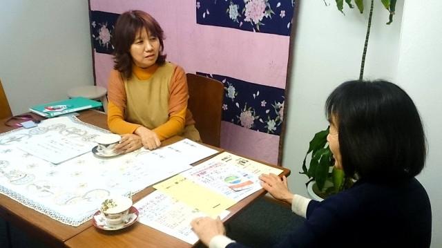 浦和の「夢工房MARUYAMA」で行われる「介護者サロン」