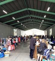 武蔵浦和でフリーマーケットイベント「シカテ一畳マーケット」