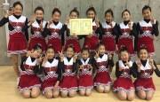 浦和区のジュニア・チアリーディング「レッドモンキーズ」、全国子ども大会で2位