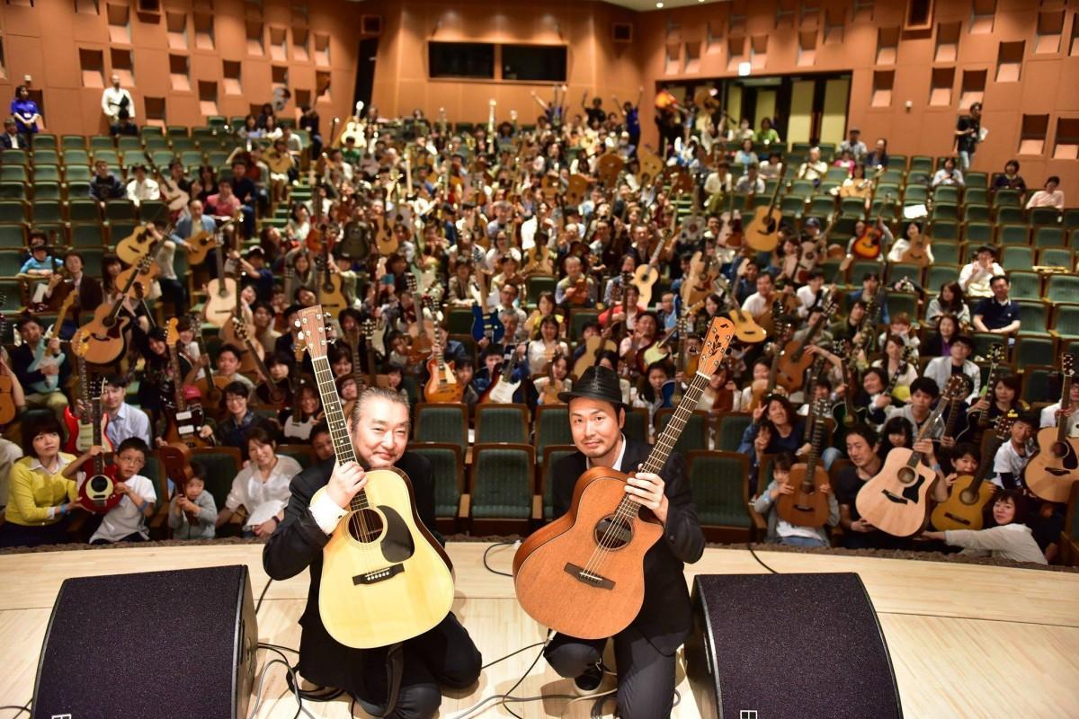 浦和で参加型音楽イベント 300人でセッションも