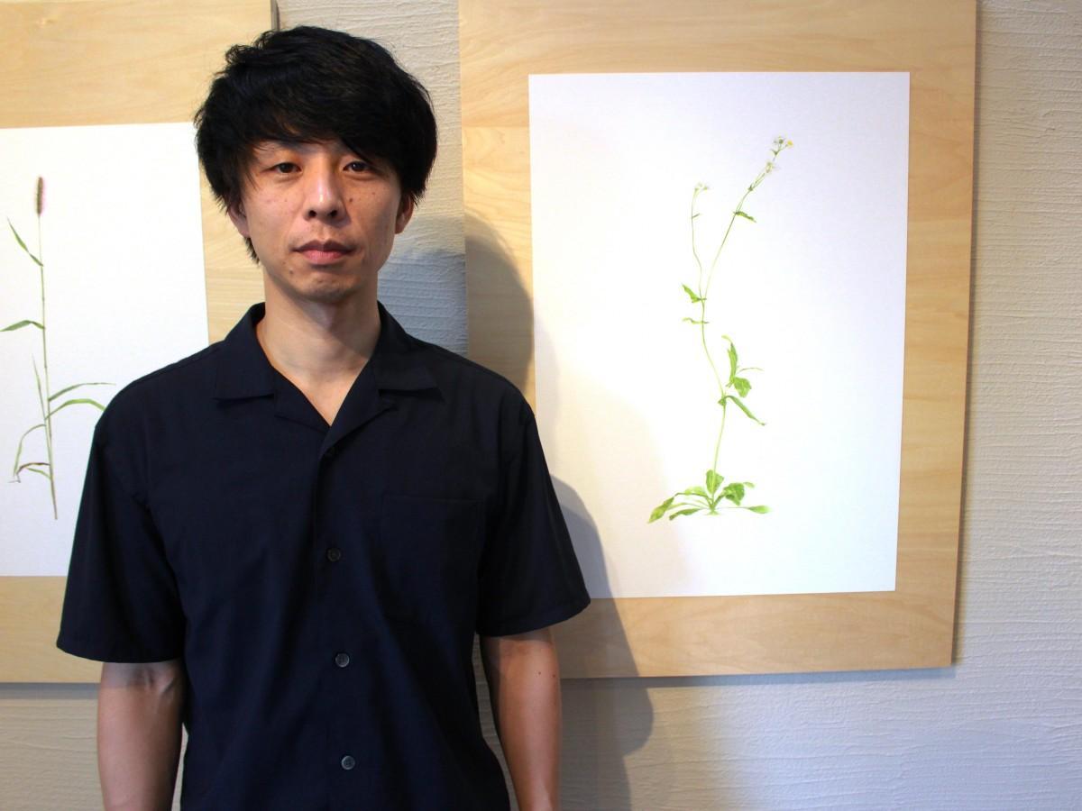 さいたま市在住の画家・上田智之さん