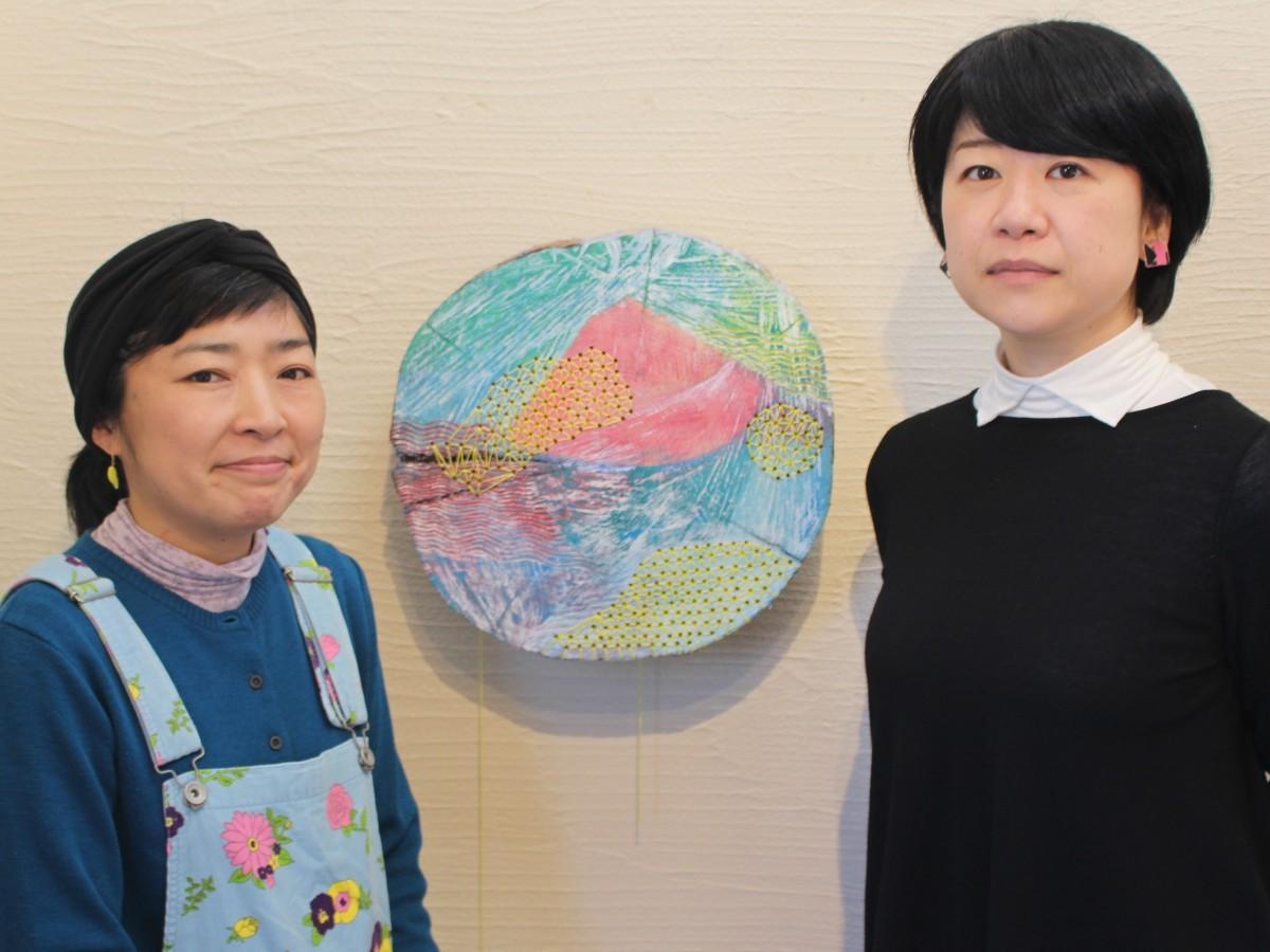 柳さん(写真左)と小林さん(写真右)