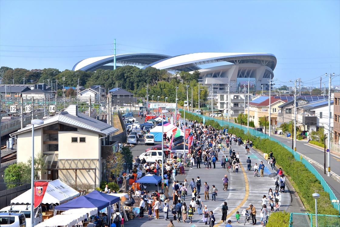 「浦和美園祭り」の様子