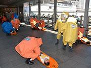 宇都宮駅など県内7カ所ででテロ攻撃を想定した実動訓練