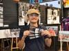 宇都宮で日光アイスバックス写真展 チーム公式カメラマンの饗庭さん