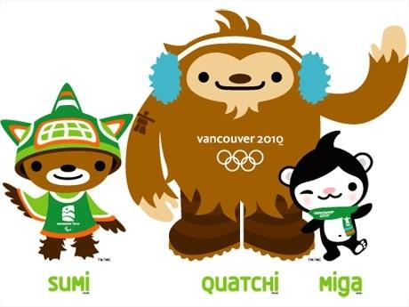 バンクーバー冬季五輪のマスコット