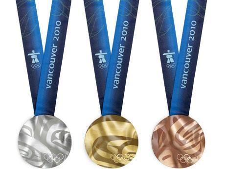バンクーバー冬季五輪のメダルデザインが10月15日公開された。(写真提供:VANOC)