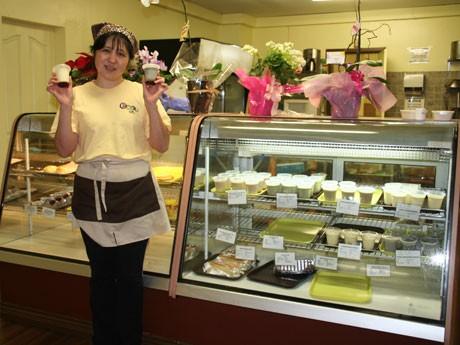 ポートムーディー市にオープンした日本人好みのスイーツを提供する「Cake-ya(ケーキ屋)」。