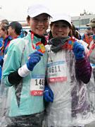 バンクーバー・マラソン開催-吉澤ひとみさん、2時間38分でハーフマラソン完走