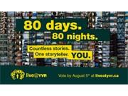 バンクーバー国際空港開港80周年企画「Live@YVR」のリポーター選考が最終段階に入った