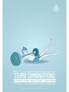 「ばかげた組み合わせ」例の一つ、「泳ぎながらウエートリフティングする」