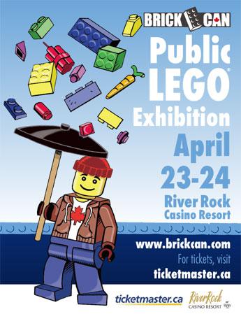 BC州初のレゴコン「BrickCan」開催
